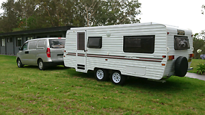 Evernew 18 ft pop top caravan. Ready to Free camp.  mobile home Wadalba Wyong Area Preview