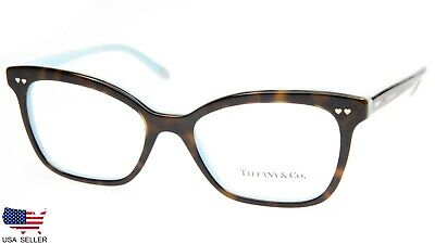 f8cdd4a825f NEW TIFFANY   Co. TF 2155 8134 HAVANA On BLUE EYEGLASSES 52-17-