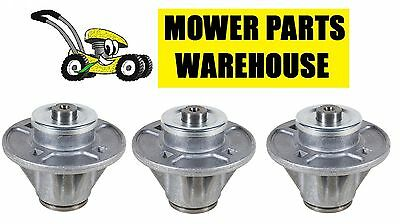 (3) LAWN MOWER DECK BLADE SPINDLE ARIENS GRAVELY 51510000 61527600 61543800 -