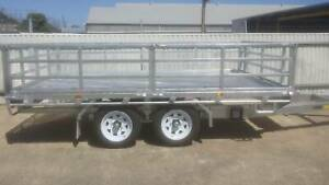 New Flat Top Trailer (Spray trailer) 12' x 7' 3.5t Hindmarsh Charles Sturt Area Preview