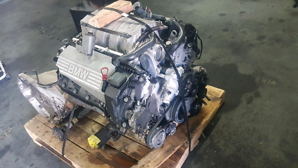 BMW X5 N62 Engine and Transmission