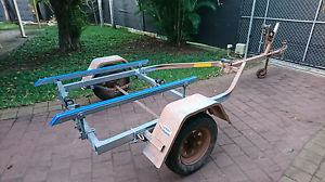 Dunbier boat trailer for sale Woodroffe Palmerston Area Preview