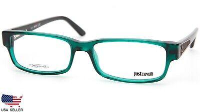 NEW Just Cavalli JC0377 087 GREEN /HAVANA EYEGLASSES GLASSES FRAME (Just Cavalli Glasses)