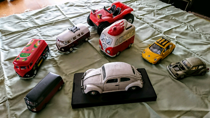 VW and Kombi toy cars collection