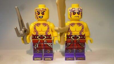 LEGO® Ninjago: 2x Sleven, Kapau, Krait, Krieger + Waffen (Lego Krieger Waffen)