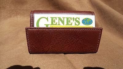 Beyberk 1214 Brown Leather Business Card Holder