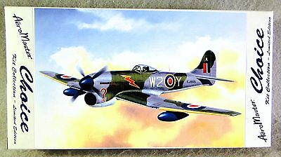 AeroMaster Choice 1/72 Hawker Tempest V Multi-Media Lt. Ed. Plastic Model Kit