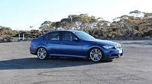 "2006 BMW 320i M Sport, Le Mans Blue, 18"" ///M Alloys North Hobart Hobart City Preview"