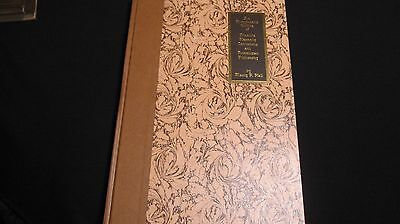 RARE The Secret Teachings of All Ages by Manly Hall Rare Limited Edition REDUCED