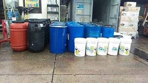 PLASTIC OR STEEL DRUMS AND BARRELS Kemps Creek Penrith Area Preview