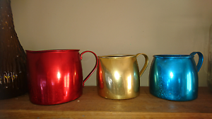 Retro Set of 3 anodised jugs Port Sorell Latrobe Area Preview