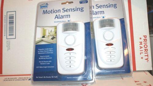 SABRE Motion-Sensing Alarm White HS-MSA