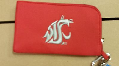 Washington State Cougars ID Wallet Wristlet Cell Phone Case Charm 14 Purse (Washington State Cell Phone)