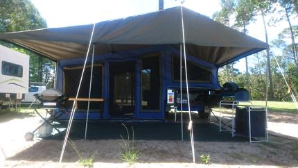 2013 Lifestyle Walkthru off-road camper trailer