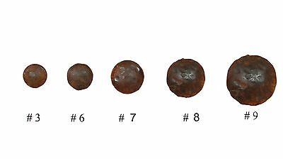 (Rustic Iron Door Hammered Hardware Clavos- Nails-1.50 in.-Rustic-Lot of 10)