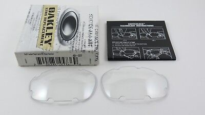 Oakley Split Jacket Clear Vented Replacement Lens+Box 43-327 NEW for sale  Shipping to Canada