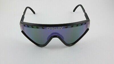 Oakley Eyeshade Matte Black Violet Iridium Vented+Foam 03-601 Gen 1 RARE