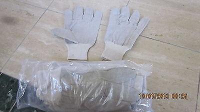 72 pair 6dz Men's Cotton Canvas Gloves, Large, 8-oz.,Dozen