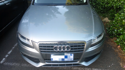 Audi A4 long rego until Dec 2018