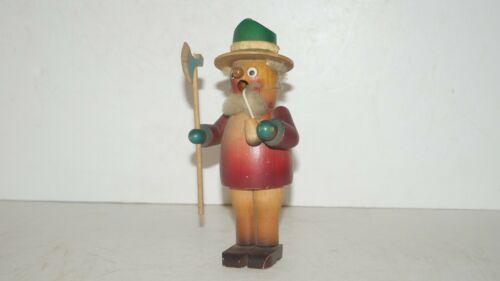 Christian Ulbricht Holzkunst Incense Smoker Wood Man Figurine