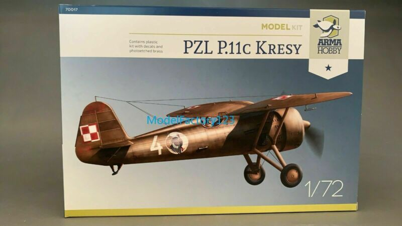 Arma Hobby 70017 1/72 PZL P.11c Kresy Model kit scale Model Kit