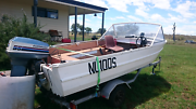 4.3 meter aluminium runabout boat  Allora Southern Downs Preview