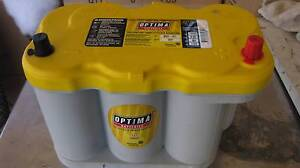 OPTIMA YELLOW TOP 12V BATTERY D27F STARTING DEEP CYCLE  NEW Wynnum Brisbane South East Preview