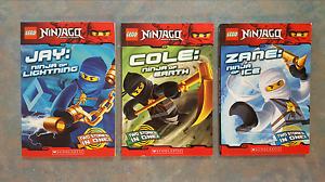 3x Lego Ninjago Books Busselton Busselton Area Preview