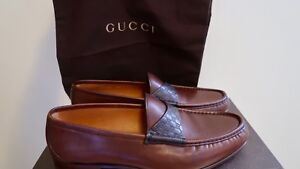 Authentic Gucci loafers shoes