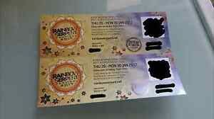 2x Rainbow Serpent hard copy tickets Sunshine Brimbank Area Preview