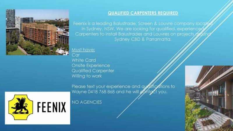 Qualified Carpenters | Other | Gumtree Australia Inner Sydney