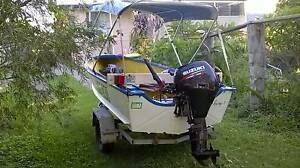 Topper Craft/seatopp, new 9.9 suzuki 4stroke, Ipswich Ipswich City Preview