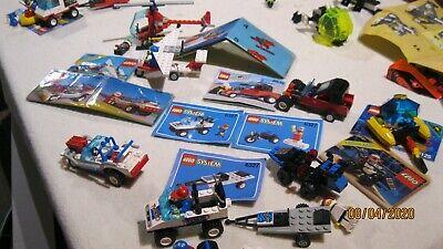 Vintage Lego Set 6327-6646-6529-6531-6538-6831-6125 90% complete