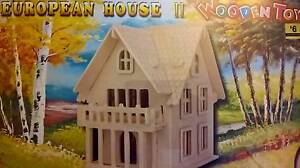 2 Different Style of Europian Wooden Toy Houses Adelaide CBD Adelaide City Preview