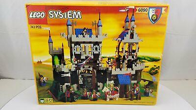 LEGO System #6090-Royal Knights Castle-Vintage-Open Box