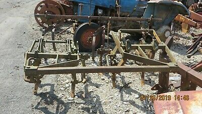 Ac Allis Chalmers Wd Wd45 Tractor 2 Row Cultivator
