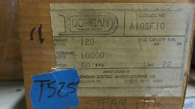 Dongan 250va 120x10000 Volt Ignition Transformer- T525 New