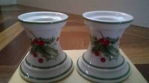 Lenox Holiday Gatherings Candle Holders - Pair Grasmere Camden Area Preview