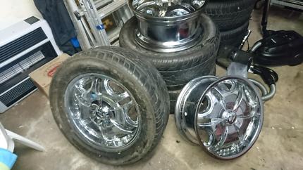 5xMitsubishi triton 18 inch wheels