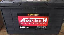 SUPER CHARGE AMP TECH DEEP CYCLE BATTERY 120 amp hour D87 Wynnum Brisbane South East Preview