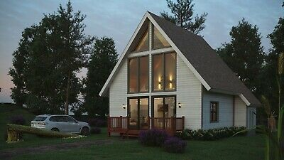 The Black Forest 36 X 28 Customizable Shell Kit Home Delivered Ready To Build