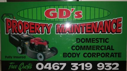 ◆GD'S PROPERTY MAINTENANCE◆ Crestmead Logan Area Preview