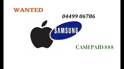 CASH FOR iPHONES, iPADS, SAMSUNG-BRAND NEW- TOP DOLLARS PAID - CASH Upper Mount Gravatt Brisbane South East Preview