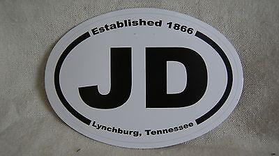Jack Daniels JD Lynchburg Tennessee  Car Destination Sticker - NEW!  NEVER USED! for sale  Murfreesboro