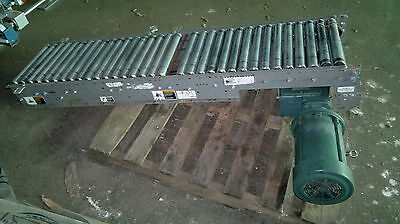 Fki Drive Roller Conveyor 18 Wide Chain Accuglide