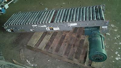 Fki Drive Roller Conveyor 18 Wide Chain Accuglide