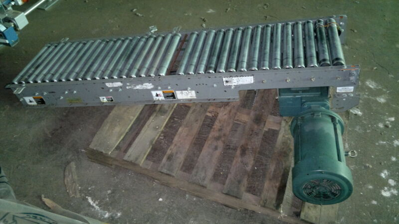 "FKI Drive Roller Conveyor 18"" Wide, chain Accuglide"