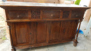100 year old chinese heavy cupboard Paralowie Salisbury Area Preview