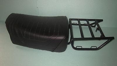Sitzbank + Gepäckträger  für BMW R80G/S, R80ST  R65GS Nachfertigung NEU schwarz