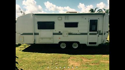 Evernew E Series 22ft Caravan